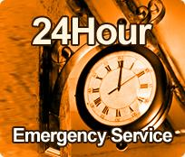 24 Hour Emergency Service in Walnut!